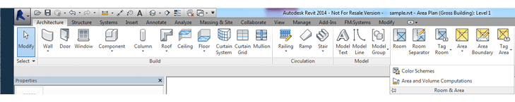 revit area tools - Revit Tips Part 2 - Getting to BIM quickly with a basic Revit floorplan