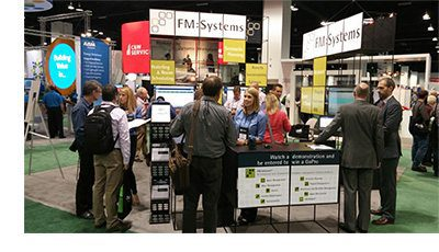WWP2015 FMS Booth - FM:Systems Presence at IFMA's 2015 World Workplace