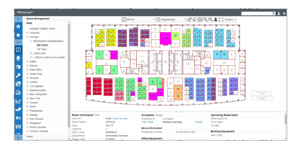 85 new interface - New Features that will Help Facility Professionals Manage Their Facilities More Effectively