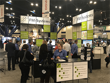 WWP17 booth - The Power of the Mobile Employee at World Workplace