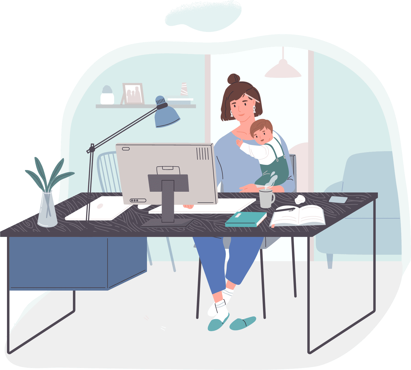 Asset 6 - Working from Home for Beginners: Tips from a WFH Veteran