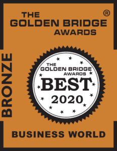 """2020 FMS GBA Bronze 232x300 - <span style=""""color: #51b6bd;"""">FM:Systems winsthe12th Annual 2020 Golden Bridge Business and Innovation Awards®, Bronze"""