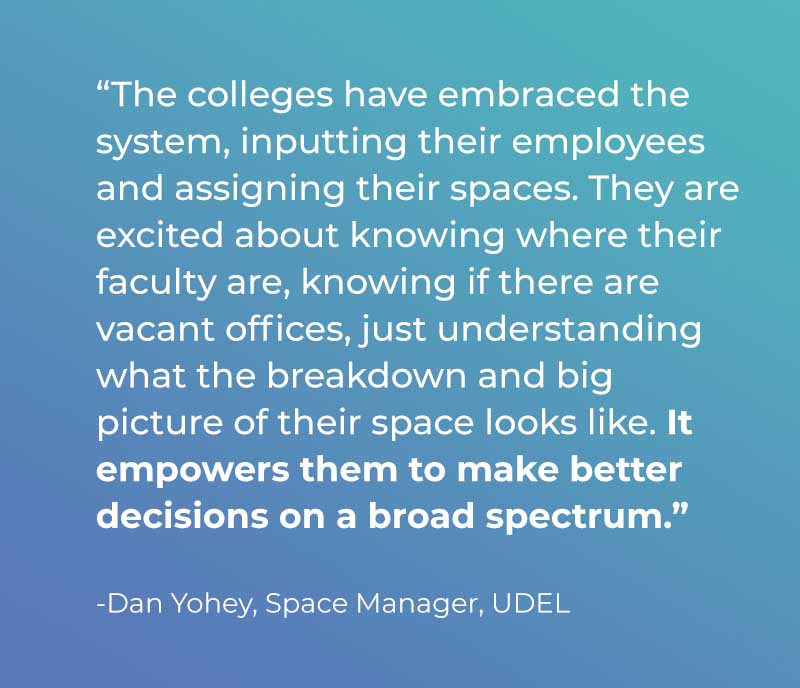 udel quote - University of Delaware Success Story